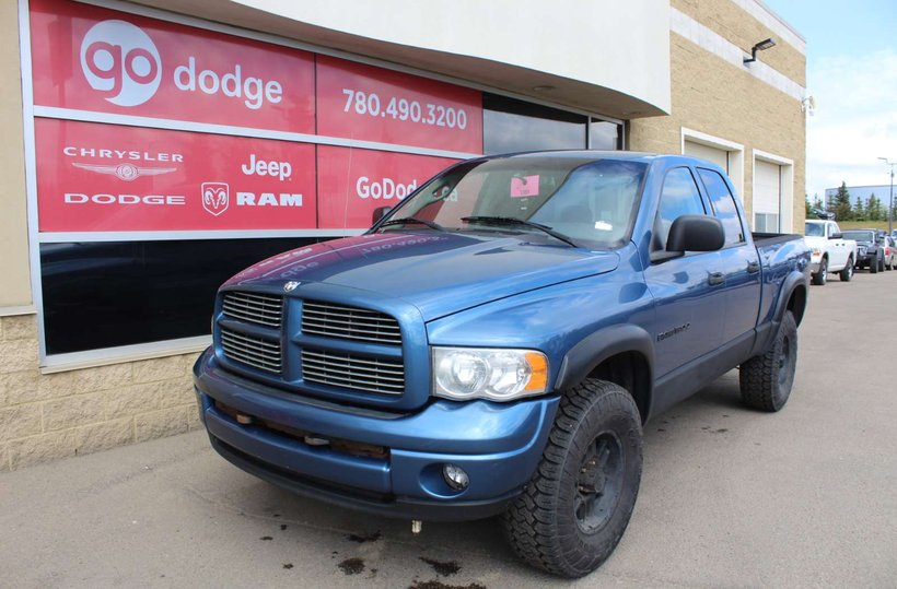 Blue 2004 Dodge Ram 1500 SLT for sale in Edmonton, Alberta