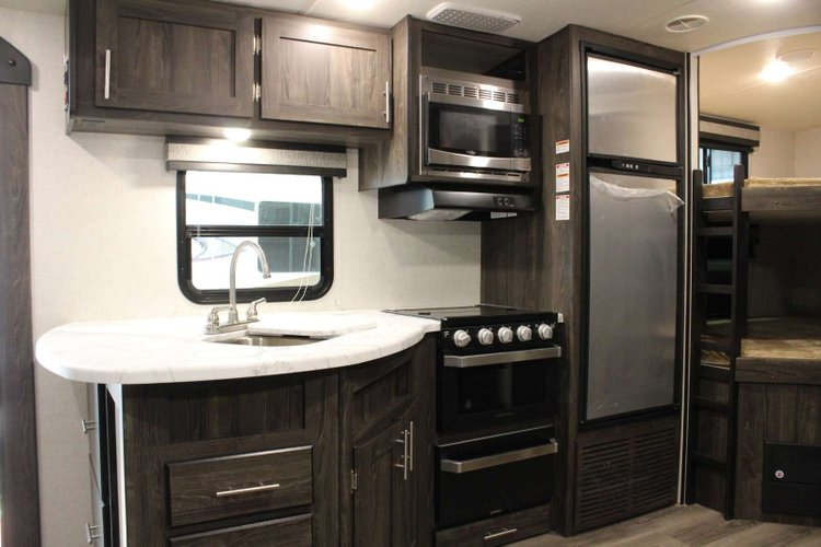 2019 Highland Ridge Open Range Ultra-Lite 2504BH Only $179 Biweekly OAC. New Travel Trailer, sleeps 8 with Bunk Beds! for sale in Red Deer, Alberta