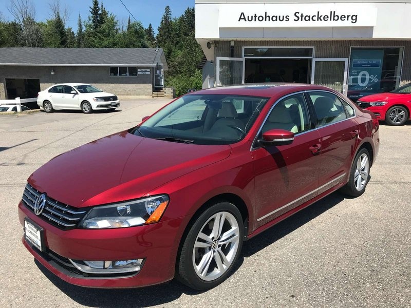 2015 Volkswagen Passat for sale in North Bay, Ontario