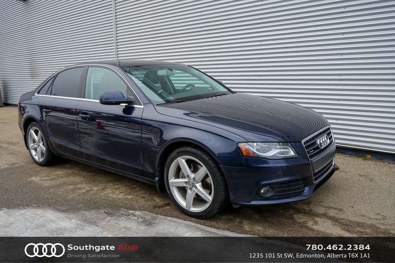 2011 Audi A4 for sale in Edmonton, Alberta