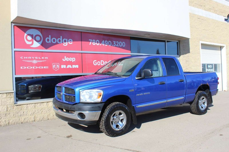 Blue 2007 Dodge Ram 1500 ST for sale in Edmonton, Alberta