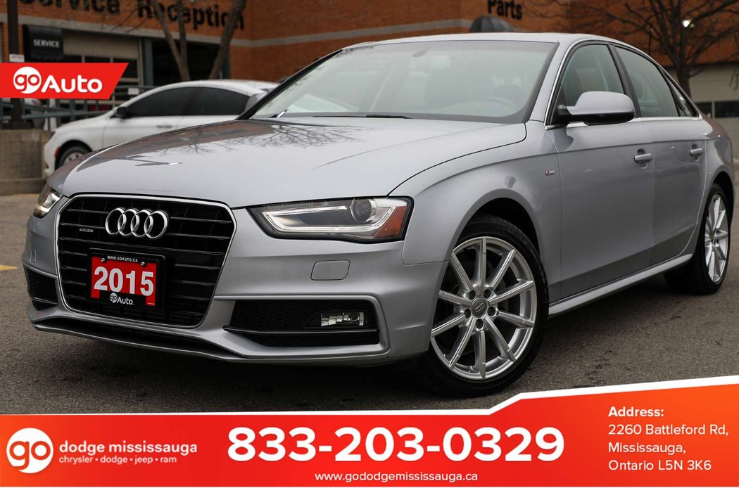 2015 Audi A4 For Sale Ontario