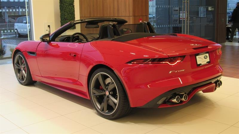 2018 Jaguar F-TYPE for sale in Richmond, British Columbia