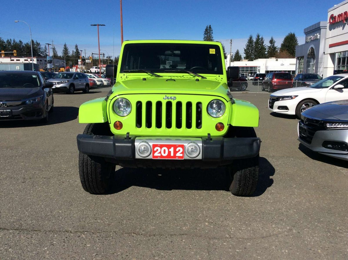 2012 Jeep Wrangler Unlimited for sale in Campbell River, British Columbia