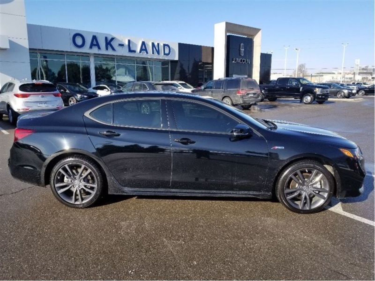 2018 Acura TLX for sale in Oakville, Ontario
