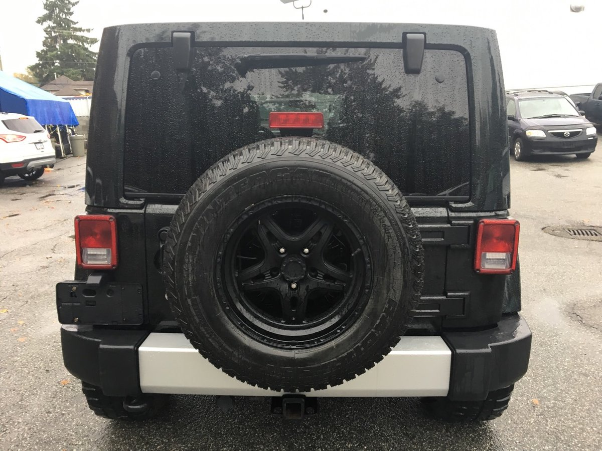 2012 Jeep Wrangler Unlimited for sale in Port Coquitlam, British Columbia