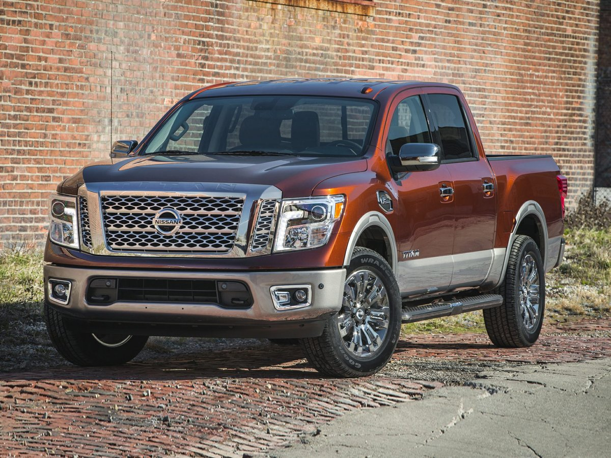 2018 Nissan Titan for sale in Kamloops, British Columbia