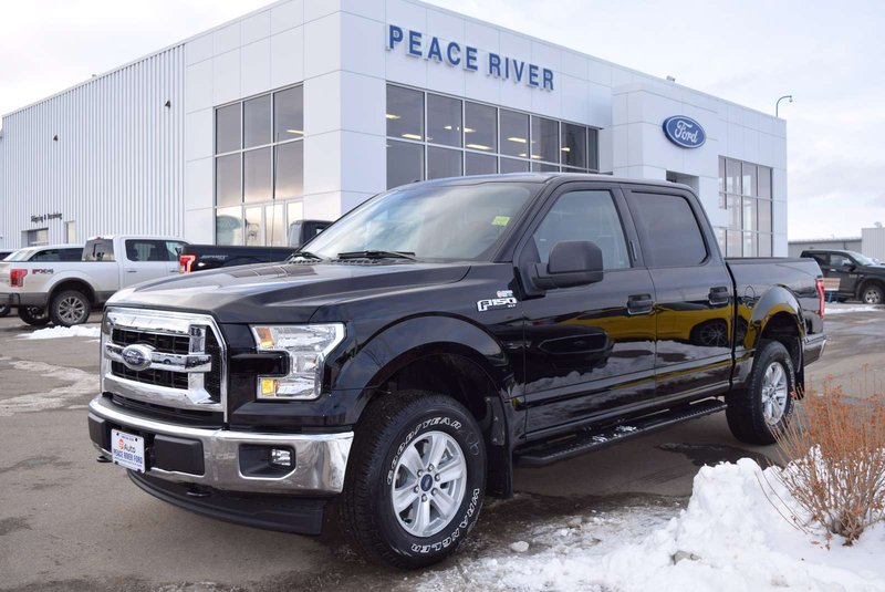 Black 2017 Ford F-150 XLT for sale in Peace River, Alberta