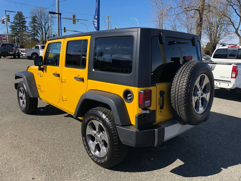 2015 Jeep Wrangler Unlimited for sale in Campbell River, British Columbia