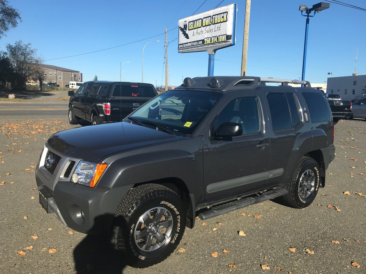 2015 Nissan Xterra for sale in Campbell River