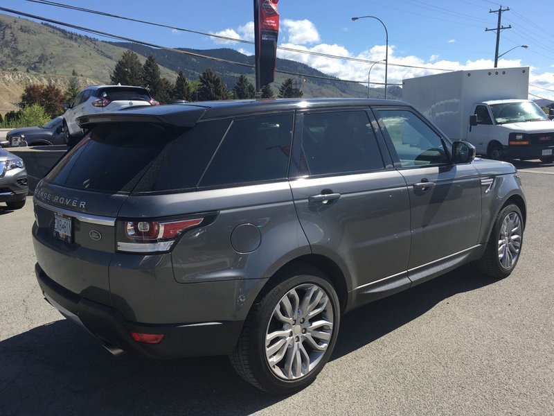 2015 Land Rover Range Rover Sport for sale in Kamloops, British Columbia