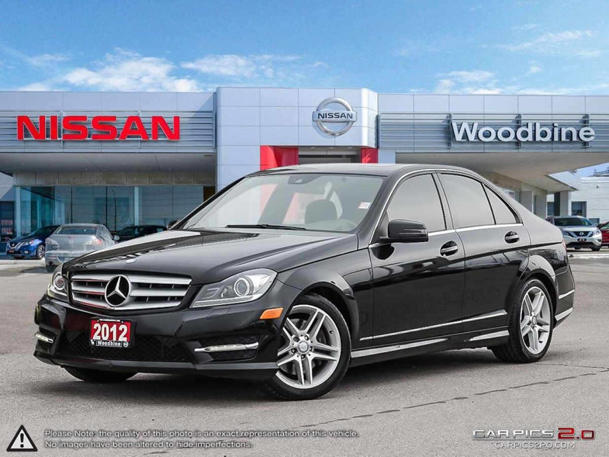 2012 Mercedes-Benz C-Class for sale in Toronto, Ontario