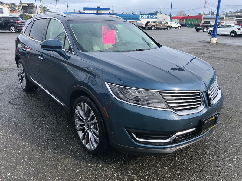 2016 Lincoln MKX for sale in Campbell River, British Columbia