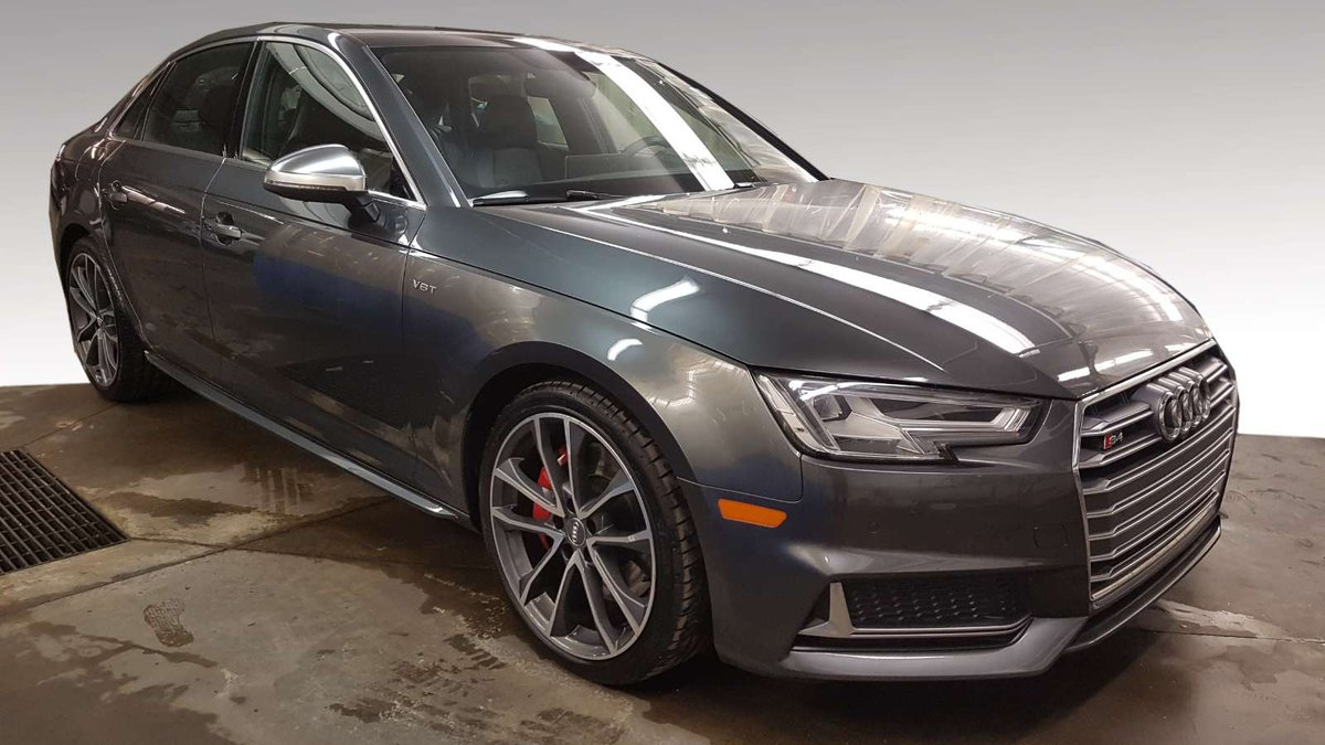 2018 Audi S4 Sedan For Sale In Edmonton