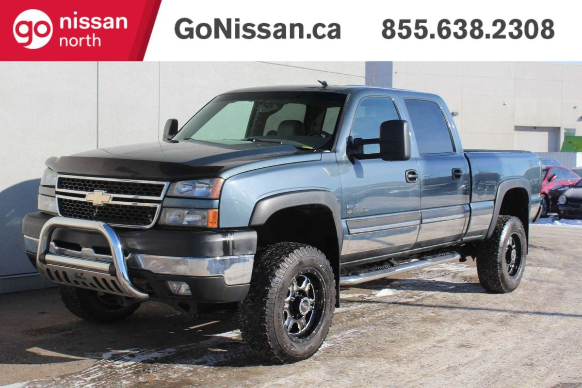 2007 Chevrolet Silverado 2500hd For Sale In Edmonton 1949 Chevy Truck Crew Cab This Lt 4x4 Trimmed Grey Has A Four Door With Maximum Seating Five It Is Powered By 66 Liter Duramax