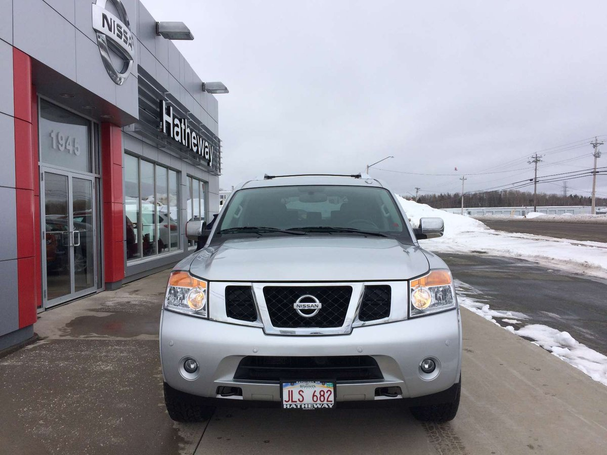 2015 Nissan Armada for sale in Bathurst, New Brunswick