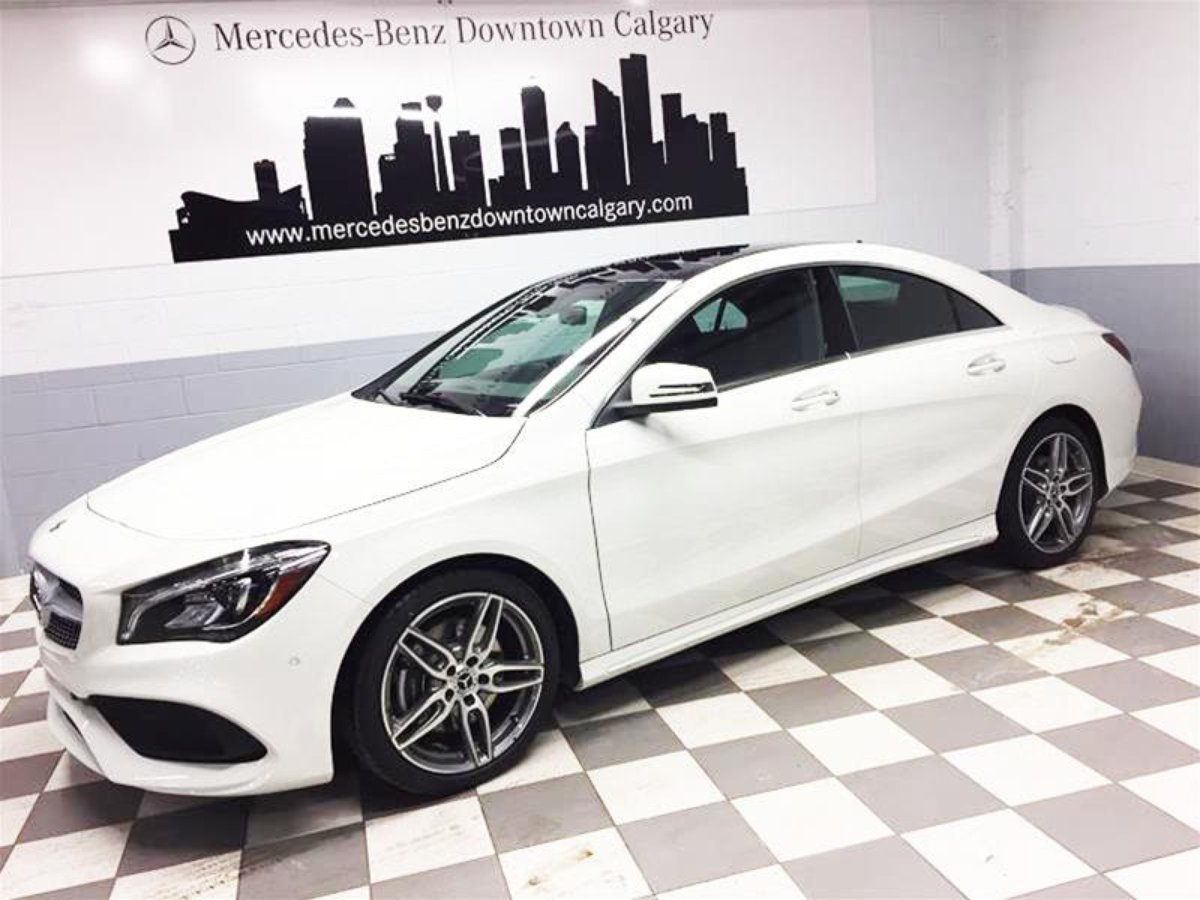 2018 mercedes benz cla for sale in calgary for Mercedes benz downtown service