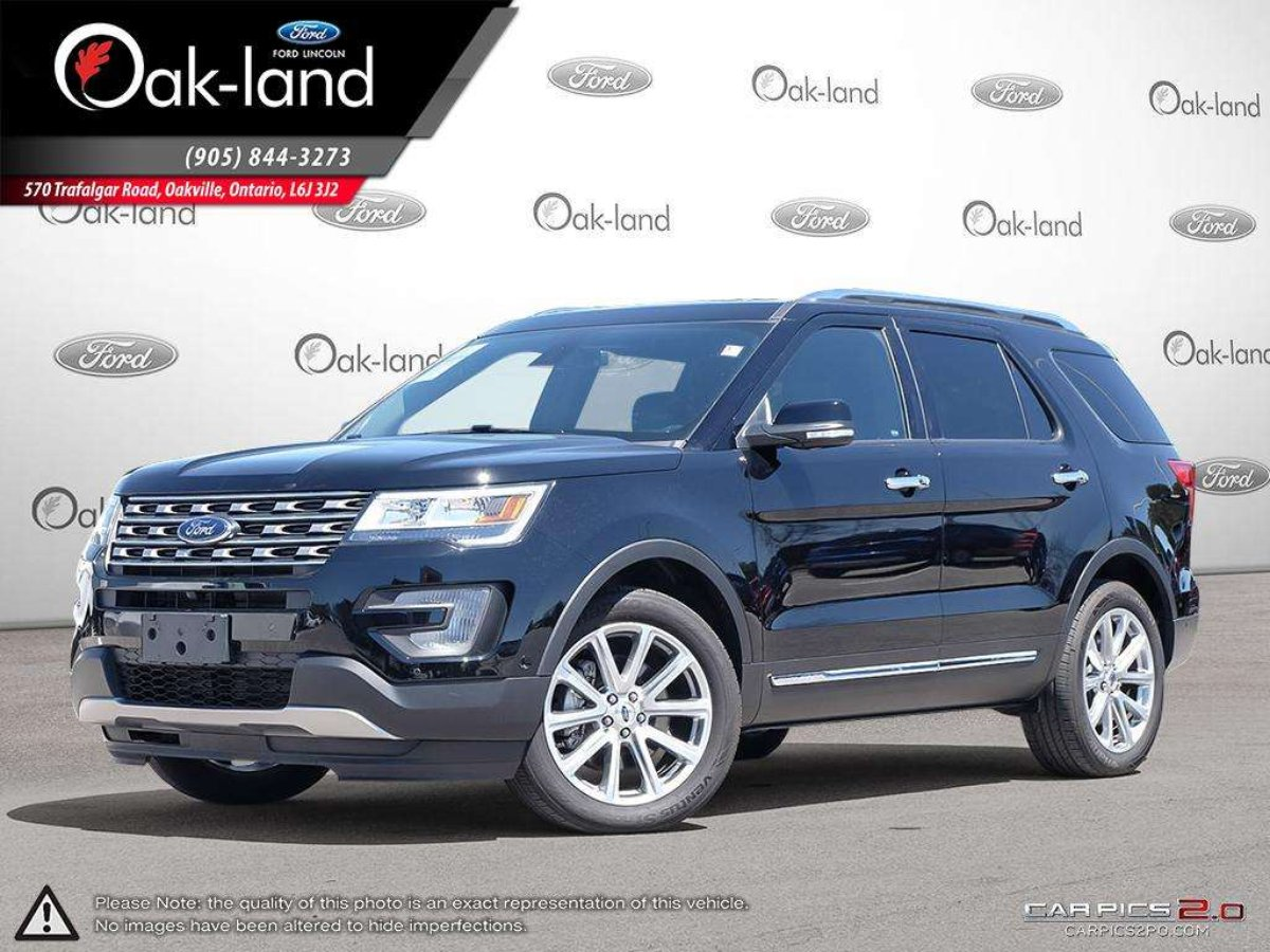 2017 Ford Explorer for sale in Oakville, Ontario