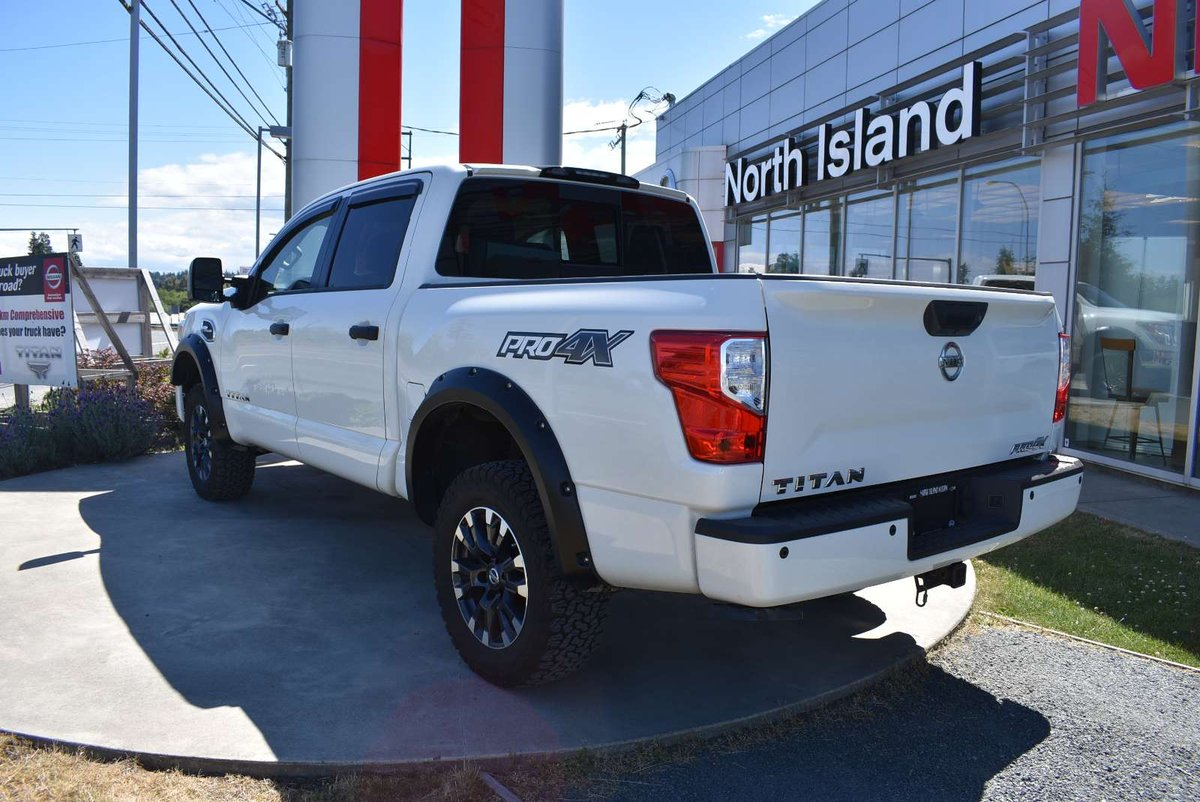 2017 Nissan Titan for sale in Campbell River, British Columbia