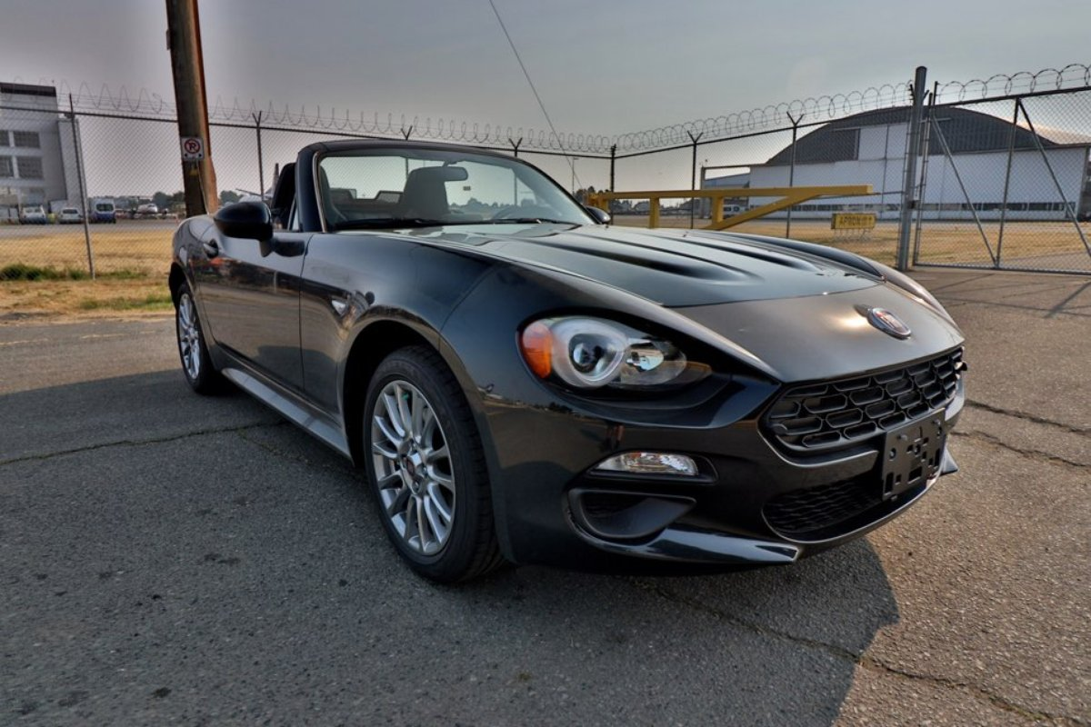 2017 fiat 124 spider for sale in richmond. Black Bedroom Furniture Sets. Home Design Ideas