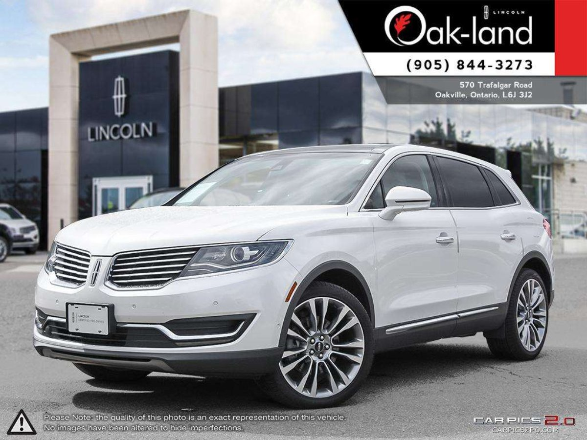 2016 lincoln mkx for sale in oakville. Black Bedroom Furniture Sets. Home Design Ideas