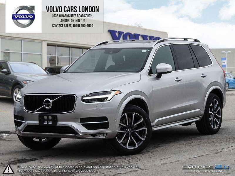 new 2018 volvo xc90 momentum v84956 london ontario go auto. Black Bedroom Furniture Sets. Home Design Ideas