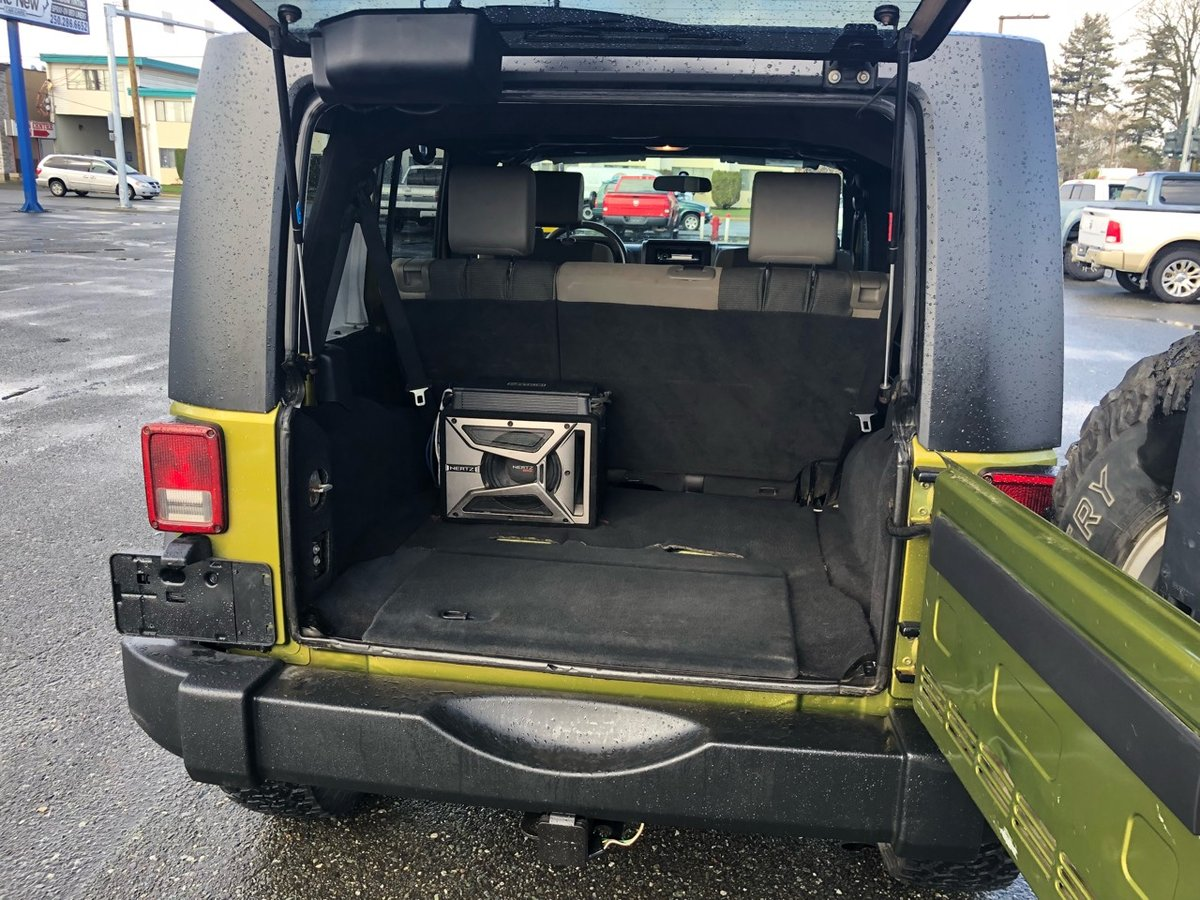 2007 Jeep Wrangler for sale in Campbell River, British Columbia