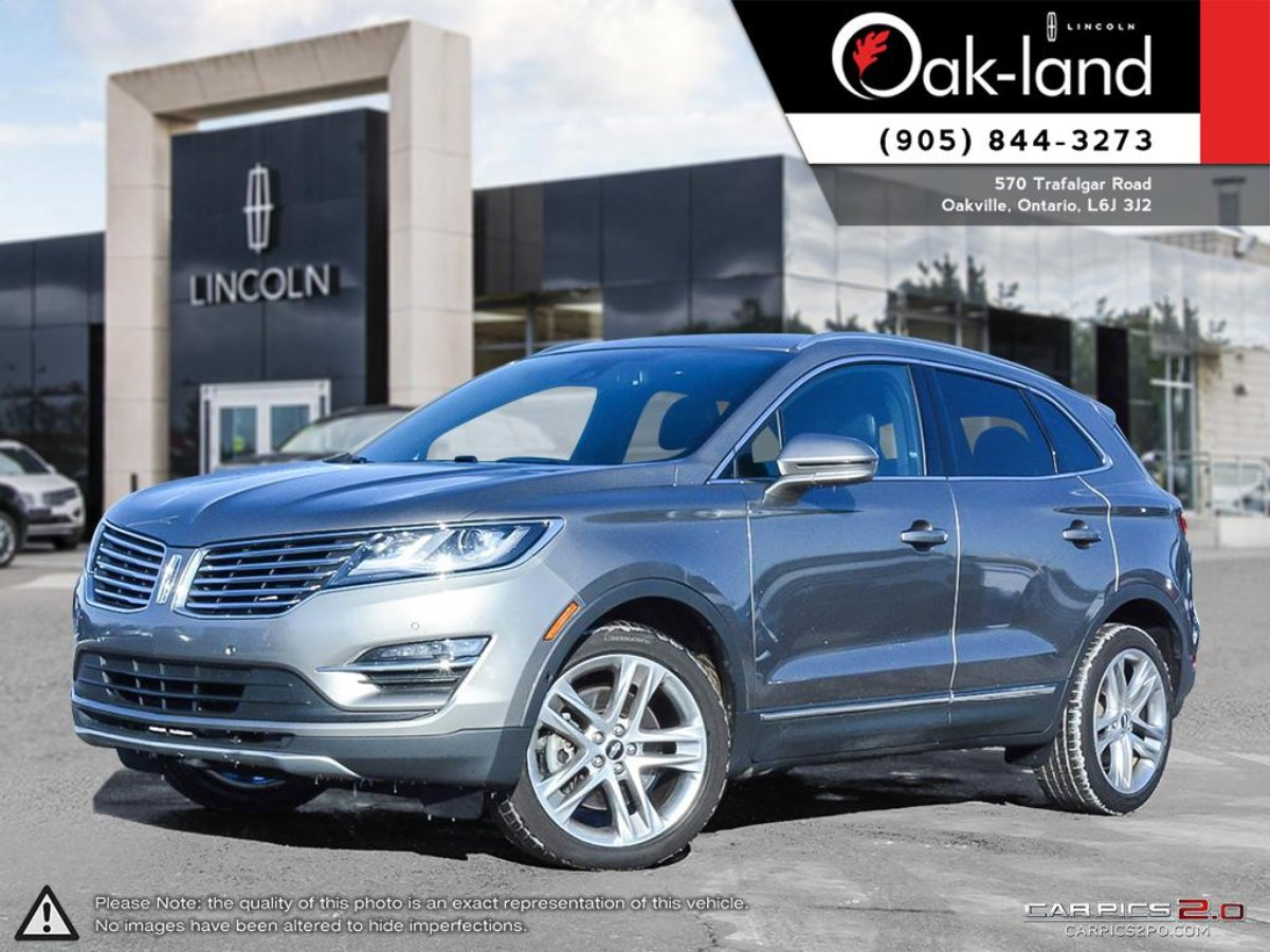 2017 Lincoln MKC for sale in Oakville, Ontario