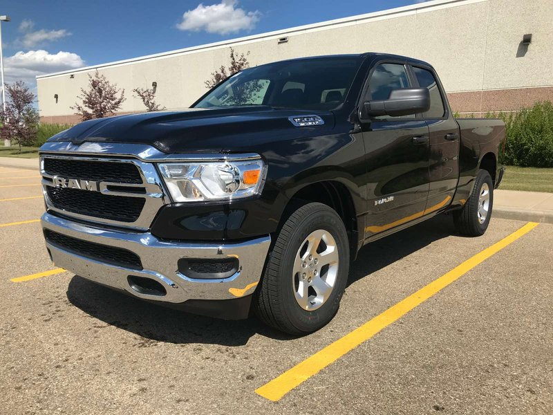 Black 2019 Ram 1500 Tradesman for sale in Edmonton, Alberta
