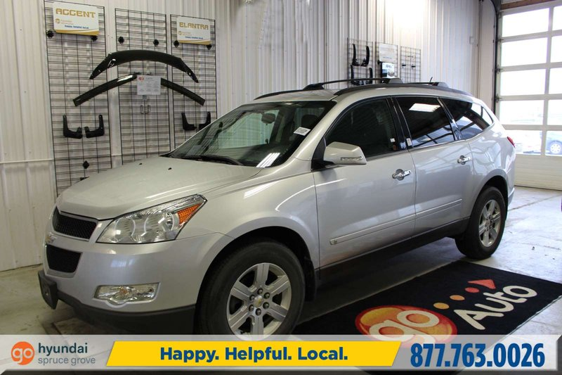 Silver 2010 Chevrolet Traverse 1LT for sale in Spruce Grove, Alberta